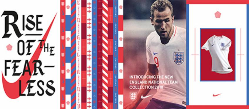 England World Cup Football Kits