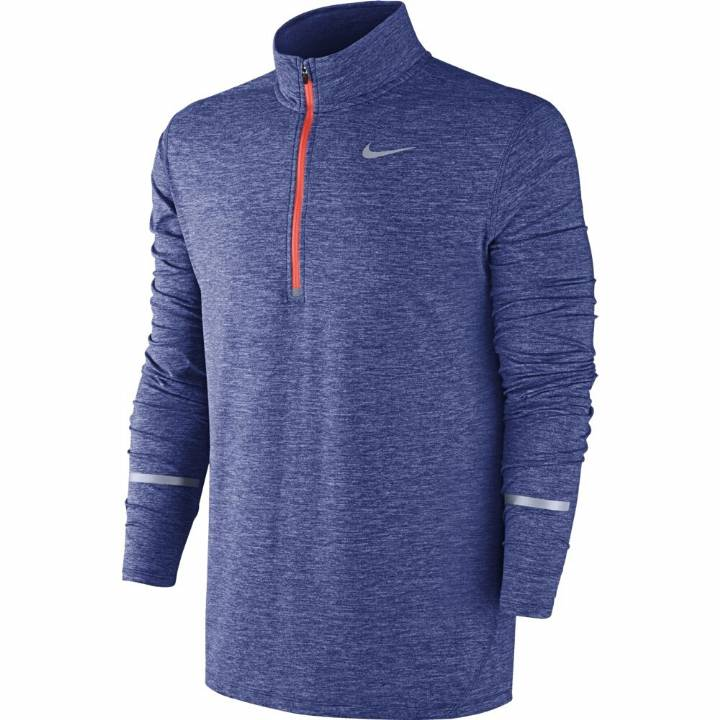 Nike Dri-Fit Element Half Zip Long Sleeved Top-Mens Image