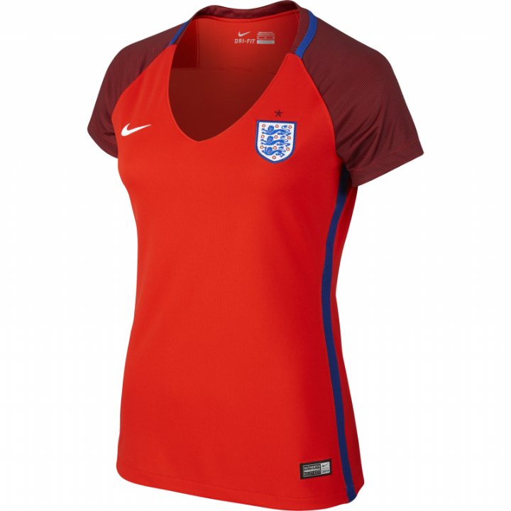 Nike England Away Shirt 2016/17-Womens Image