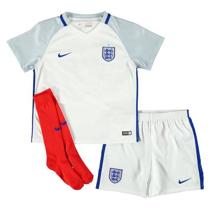 Nike England Home Kit 2016/17-Little Kids Image