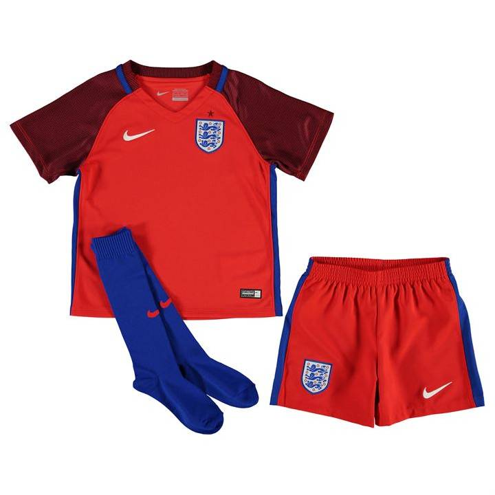 Nike England Away Kit 2016/17-Little Kids Image