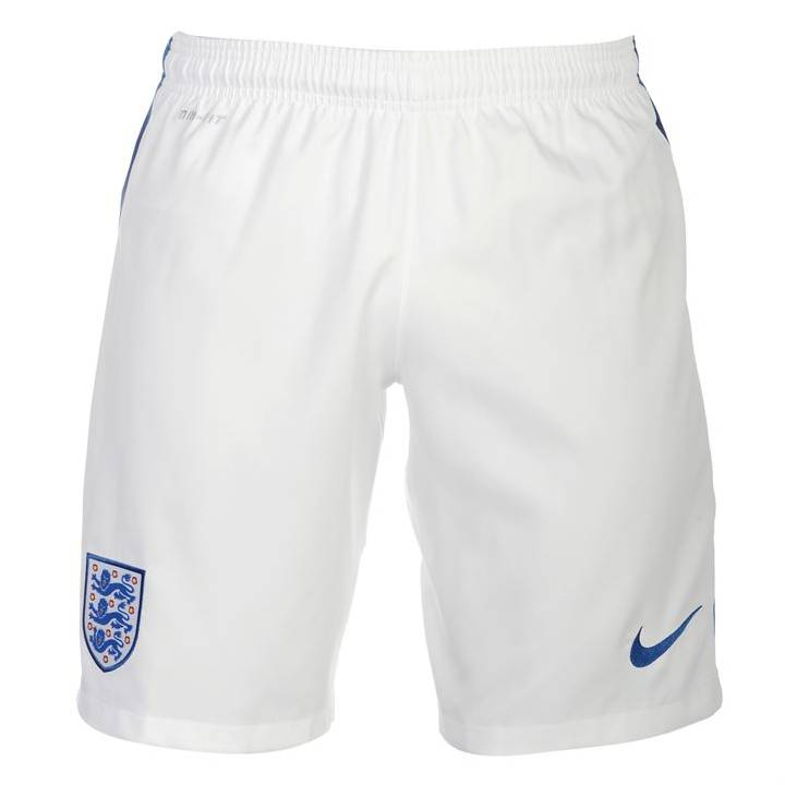 Nike England Home Shorts 2016/17-Kids Image