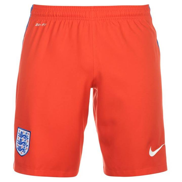 Nike England Away Shorts 2016/17-Kids Image