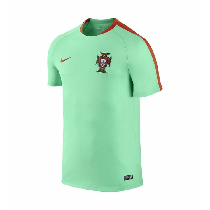 Nike Portugal Flash Short Sleeve Training Shirt 2016/17-Mens Image