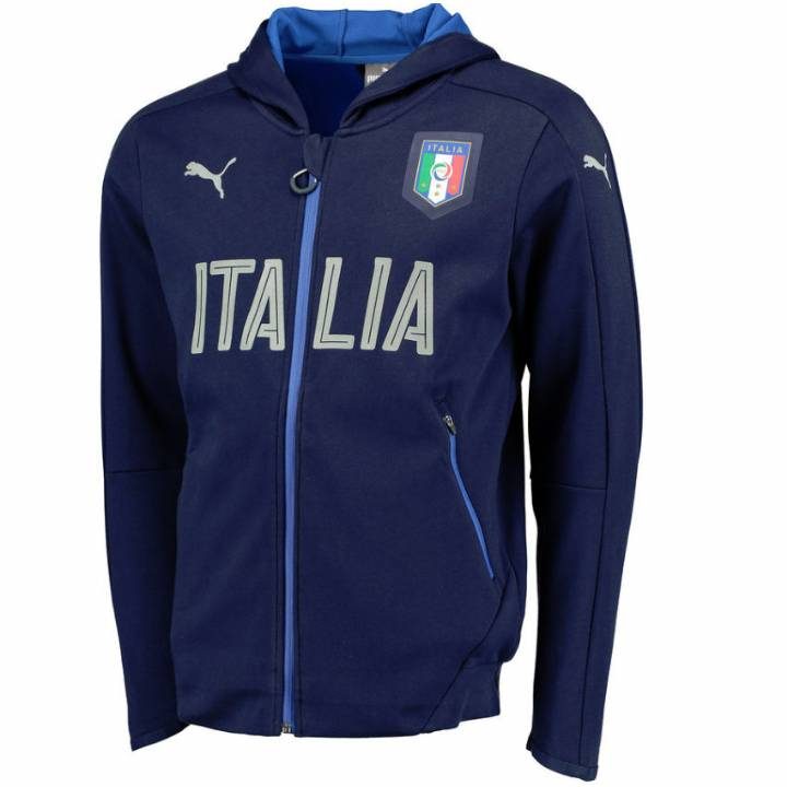 Puma Italy Casual Performance Full Zip Hoodie 2016/17-Mens Image