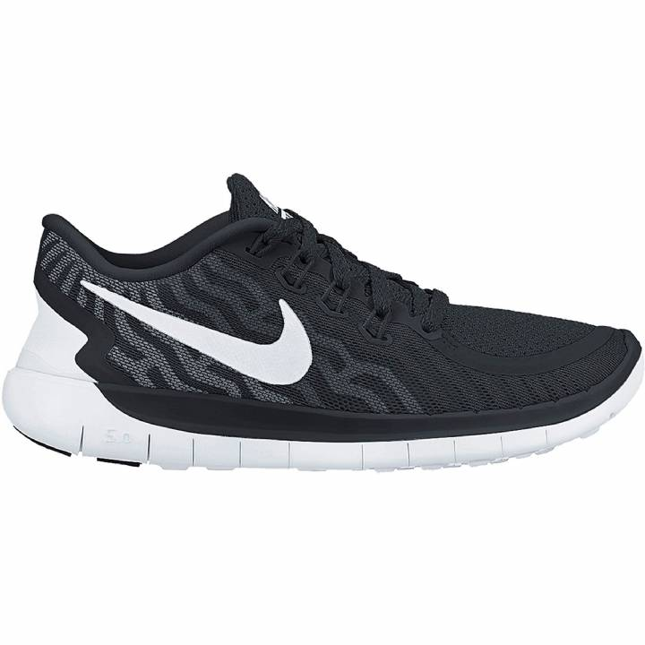 Nike Free 5.0 Trainers Black-Mens Image