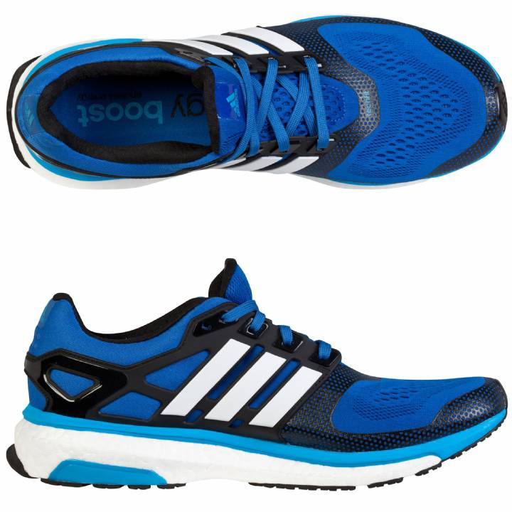 adidas Energy Boost 2 ESM Trainers-Blue-Mens Image