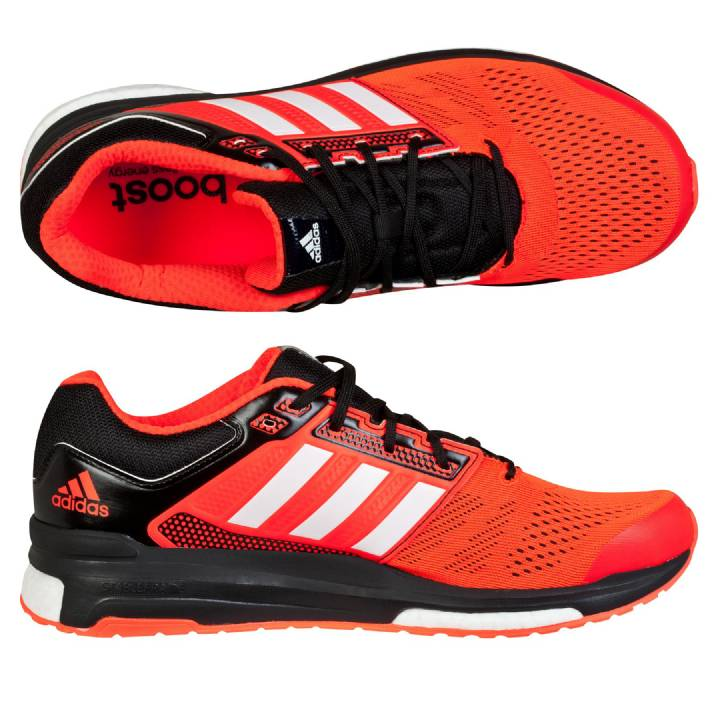 Adidas Response Revenge Boost 2 Trainers-Orange-Mens Image