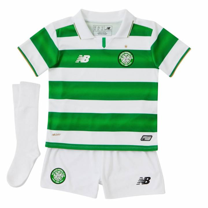 New Balance Celtic  Home Kit 2016/17-Infants Image
