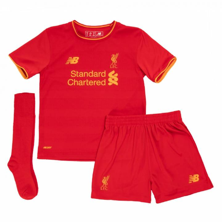 New Balance Liverpool Home Kit 2016/17-Infants Image
