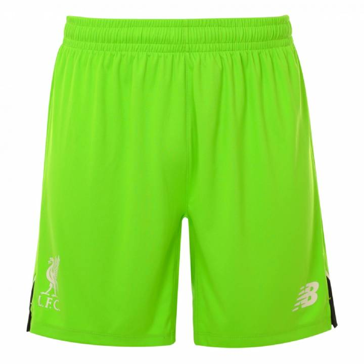 New Balance Liverpool Home Goalkeeper Shorts 2016/17-Kids Image