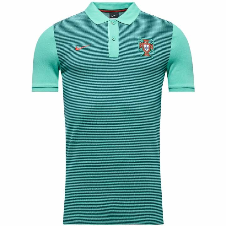 Nike Portugal Authentic Grand Slam Slim Polo Shirt 2016/17-Mens Image