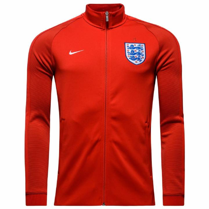 Nike England Authentic N98 Track Jacket 2016/17-Red-Mens Image