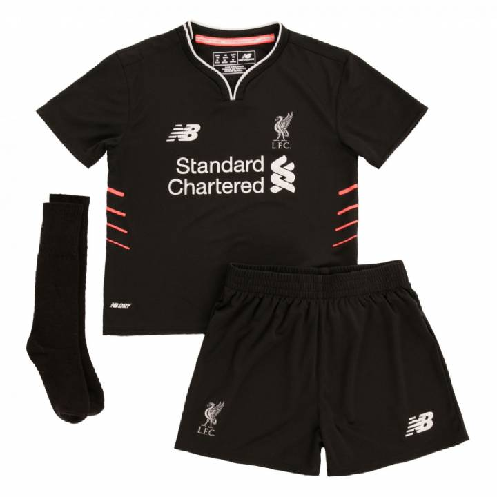 New Balance Liverpool Away Kit 2016/17-Infants Image