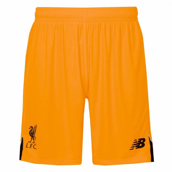 New Balance Liverpool Away Goalkeeper Shorts 2016/17-Kids Image
