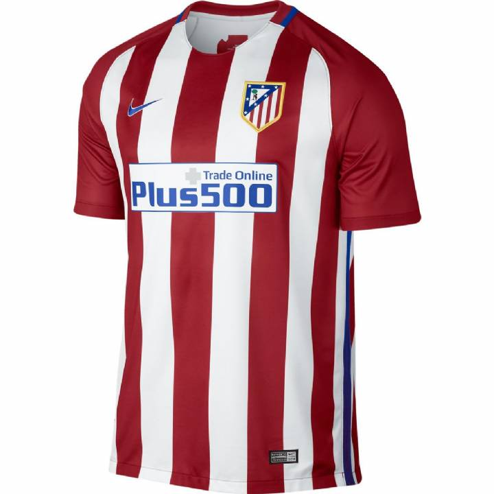 Nike Atletico Madrid Home Shirt 2016/17 - Mens Image