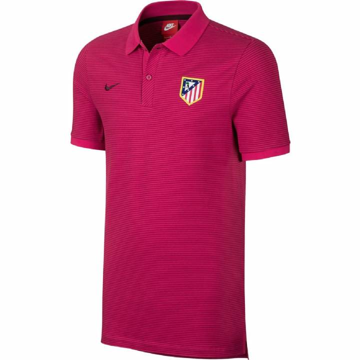 Nike Atletico Madrid Authentic Grand Slam Polo Shirt 2016/17 - Mens Image
