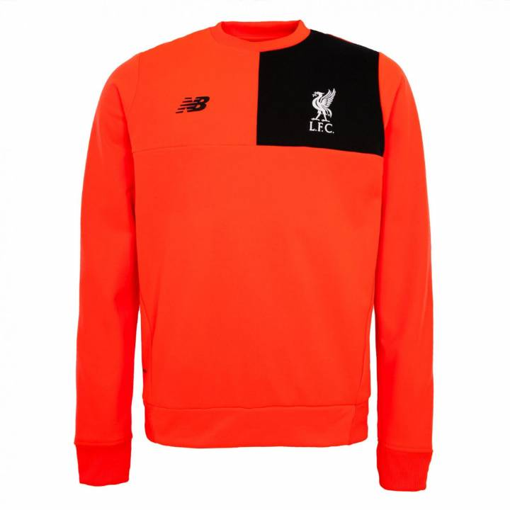 New Balance Liverpool Training Sweat Top 2016/17 - Red - Kids Image