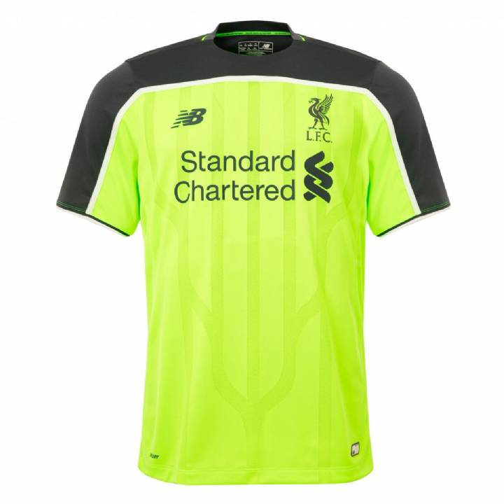 New Balance Liverpool Third Shirt 2016/17 - Kids Image