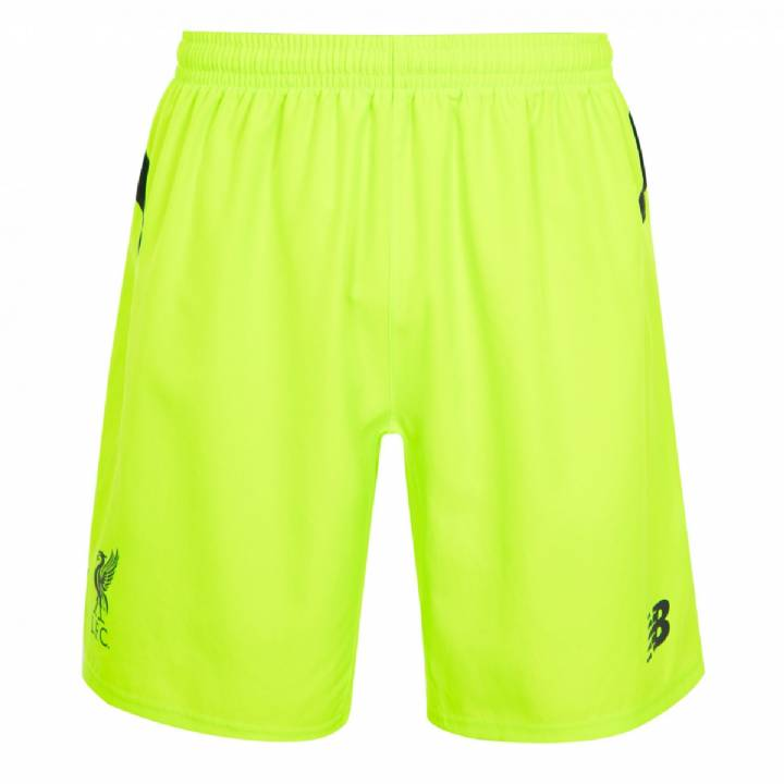 New Balance Liverpool Third Shorts 2016/17 - Kids Image