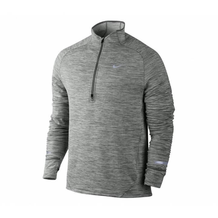 Nike Element Sphere Half-Zip Running Top-Grey- Mens Image