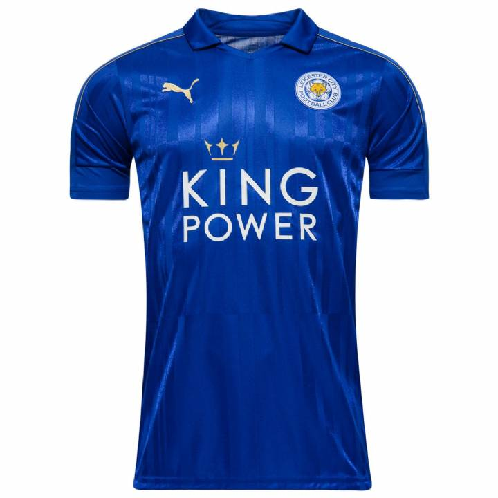 Puma Leicester City Home Shirt 2016/17 -Kids Image