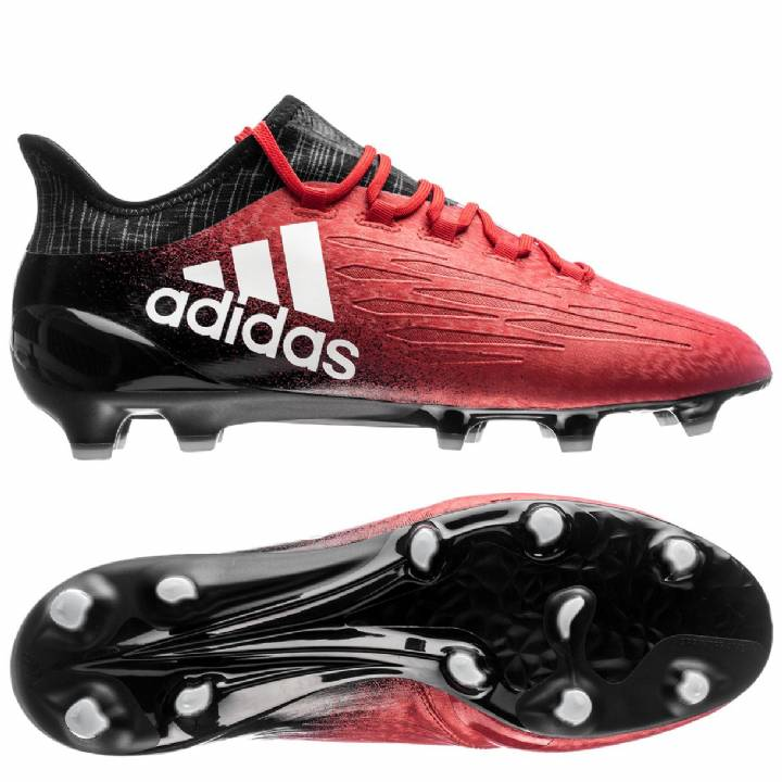 adidas X 16.1 Firm Ground Football Boots - Red/White/Core Black