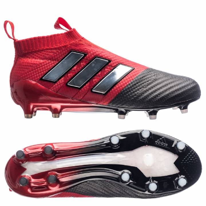 adidas Ace 17+ PureControl Firm Ground Football Boots - Red/White/Core Black Image