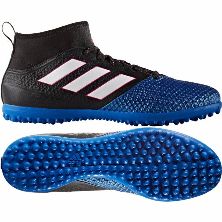 adidas Ace 17.3 Primemesh Astroturf Trainers - Core Black/White/Blue