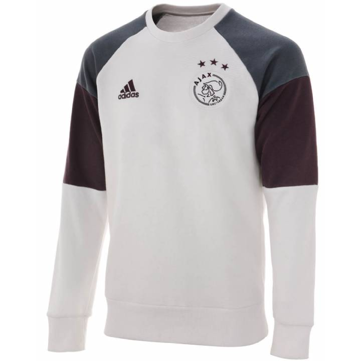adidas Ajax Training Sweat Top 2016/17 -White -Mens Image
