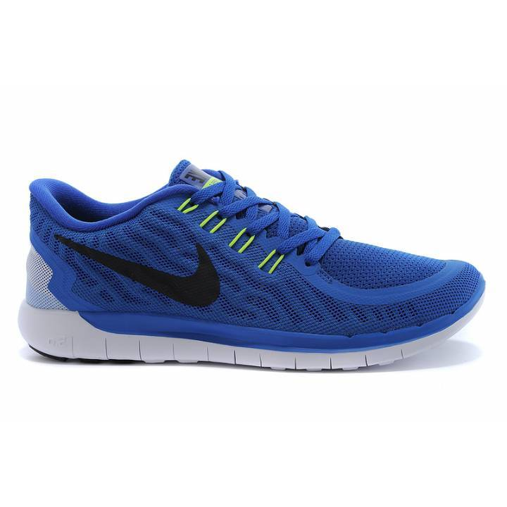 Nike Free 5.0 Trainers - Royal Blue - Mens Image
