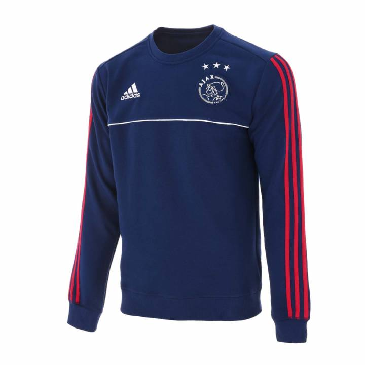 adidas Ajax Training Sweat Top 2017/18 - Dark Blue -Mens Image