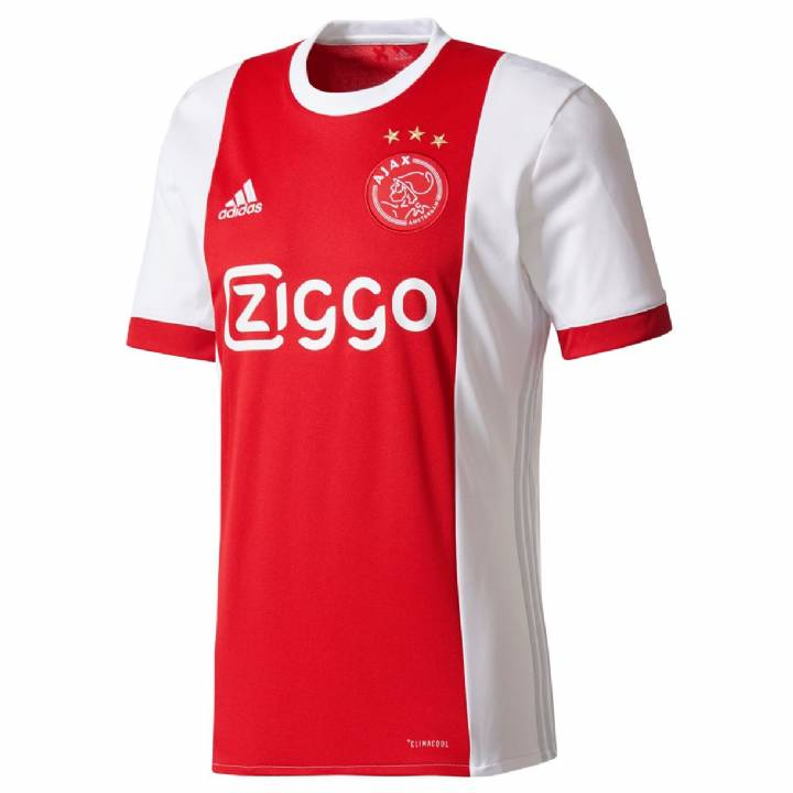 adidas Ajax Home Shirt 2017/18 - Mens Image