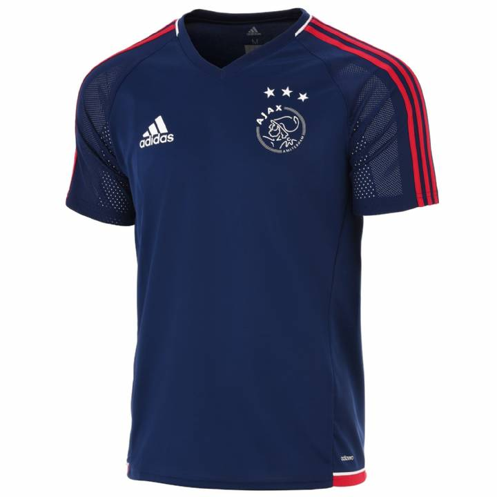 adidas Ajax Training Shirt 2017/18 - Dark Blue - Mens Image