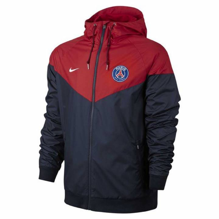 Nike Paris Saint Germain Authentic Windrunner Jacket 2017/18 - Navy - Mens Image