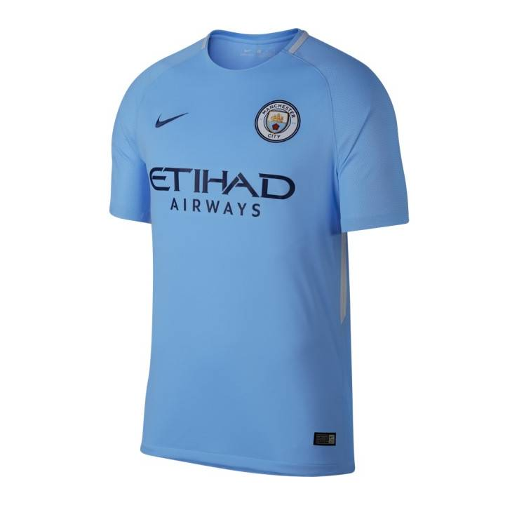 Nike Manchester City Home Shirt 2017/18 - Mens Image