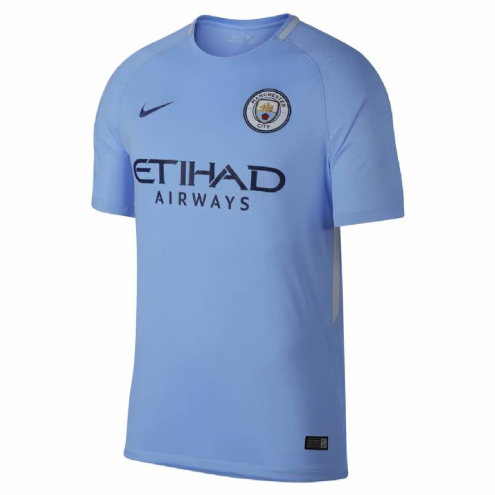 Nike Manchester City Home Shirt 2017/18 - Kids Image