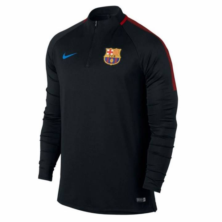 Nike Barcelona Squad Training Drill Top 2017/18 - Black - Kids Image