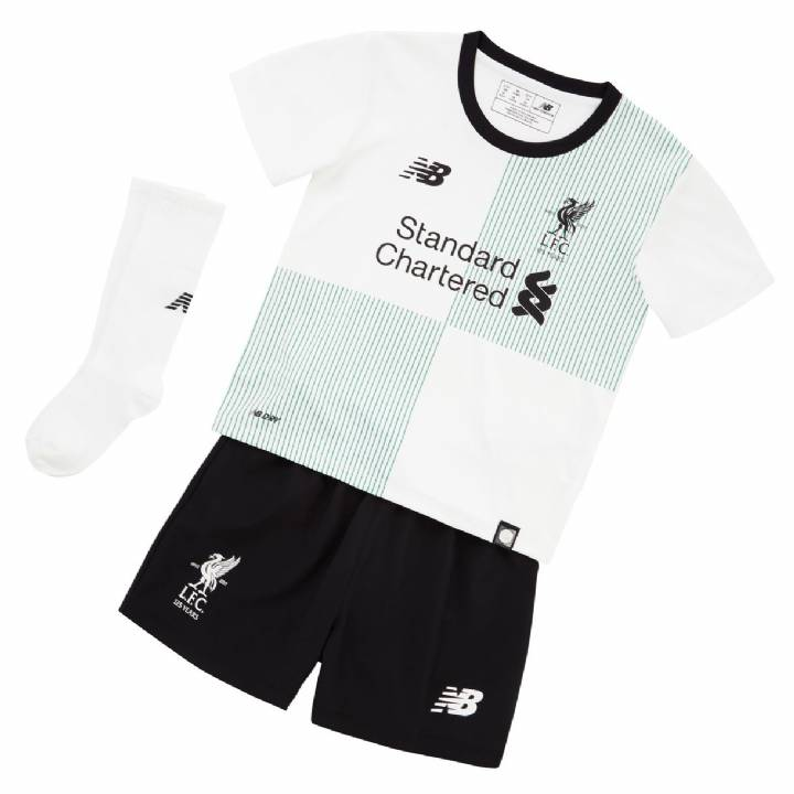 New Balance Liverpool Away Kit 2017/18 - Infants Image