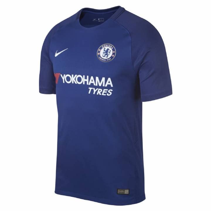 Nike Chelsea Home Shirt 2017/18 - Mens Image