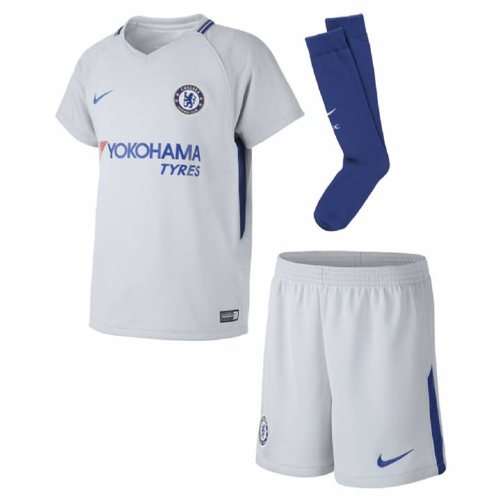 Nike Chelsea Away Kit 2017/18 - Little Kids Image