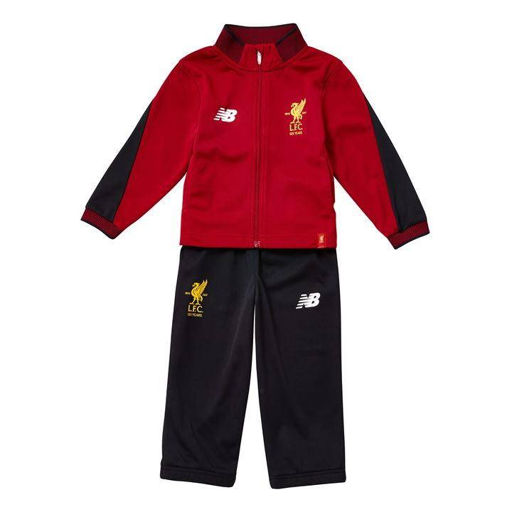New Balance Liverpool Training Presentation Tracksuit 2017/18 -Red- Kids Image
