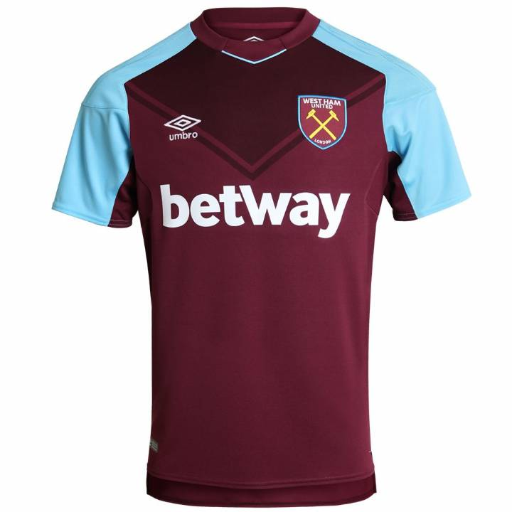 Umbro West Ham United Home Shirt 2017/18 - Mens Image