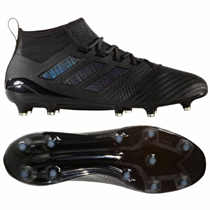 adidas Ace 17.1 Firm Ground Football Boots - Core Black/Core Black/Utility Black