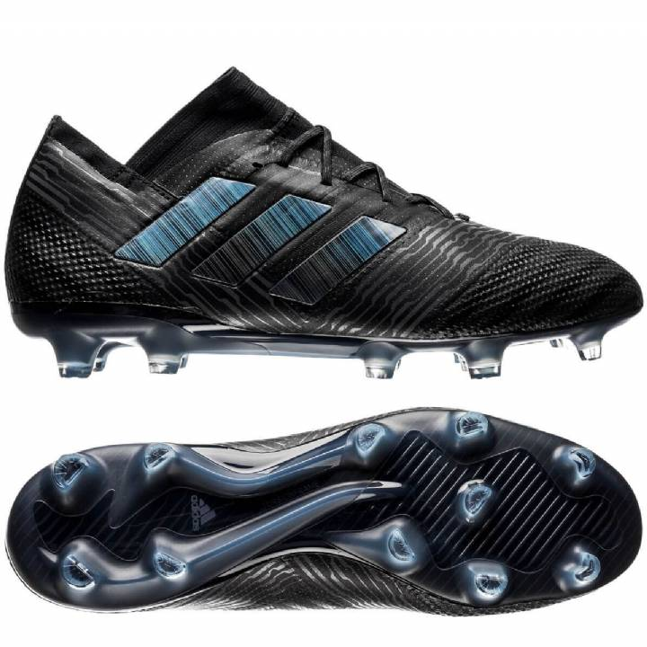 adidas Nemeziz 17.1 Firm Ground Football Boots - Core Black/Core Black/Core Black