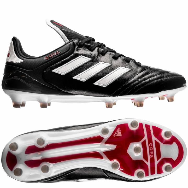 adidas Copa 17.1 Firm Ground Football Boots - Core Black/White/Red Image