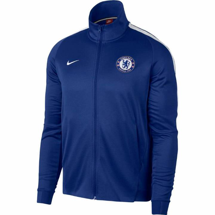 Nike Chelsea Authentic Franchise Track Jacket 2017/18 - Blue - Mens Image