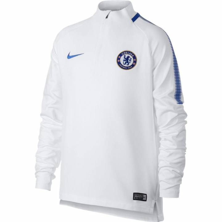 Nike Chelsea Training Squad Drill Top 2017/18 - White - Kids Image