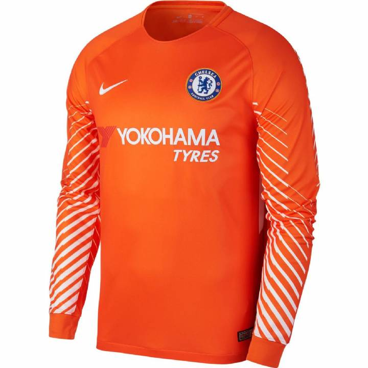 Nike Chelsea Home Goalkeeper Shirt 2017/18 - Kids Image