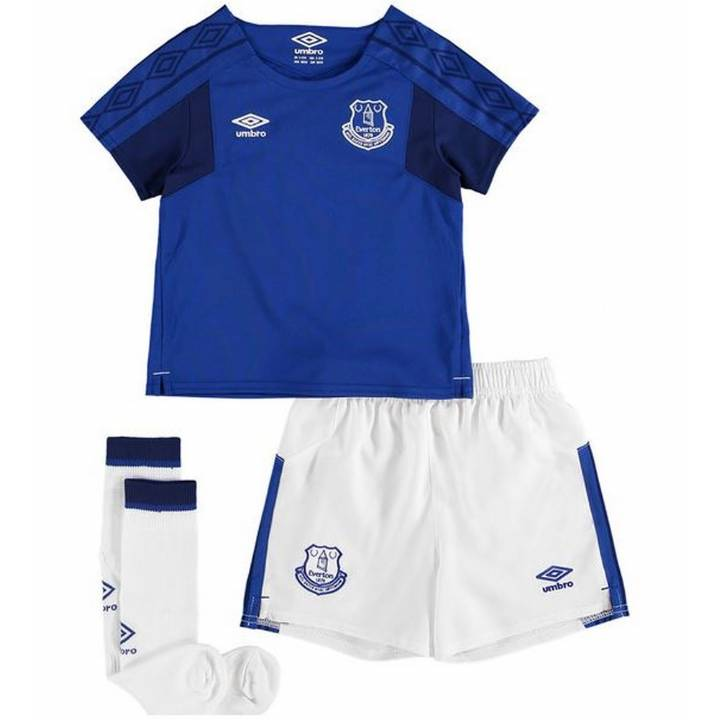 Umbro Everton Home Kit 2017/18 - Little Kids Image